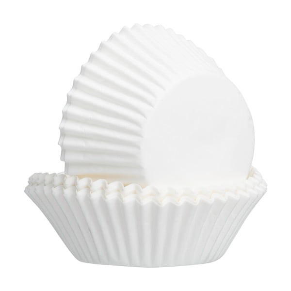 Set 50 forme pentru brioșe Mason Cash Baking, alb
