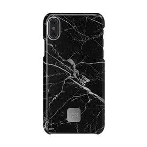 Černo-šedý kryt na telefon pro iPhone X a XS Happy Plugs Slim