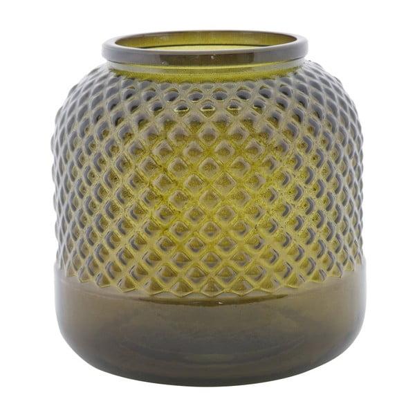 Bolt zöld újrahasznosított üveg váza, ⌀ 19 cm - Mauro Ferretti