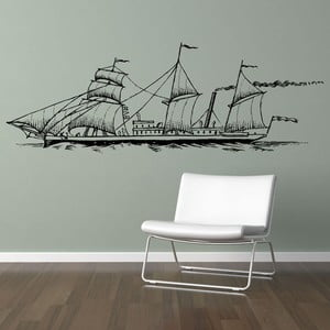 Samolepka Ship 58x157 cm