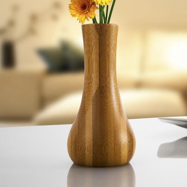 Vază de bambus Bambum Lotus, 18 cm