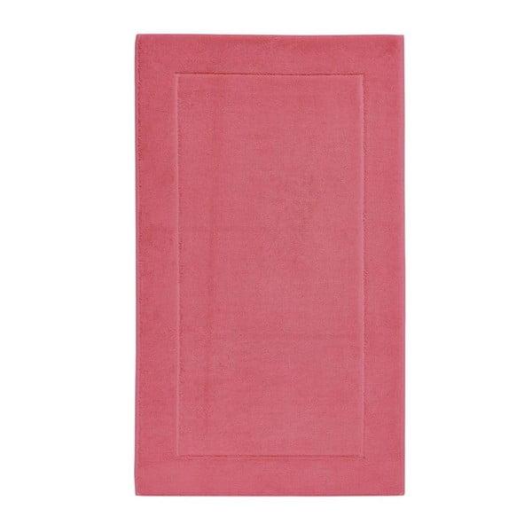 Růžová koupelnová předložka z egyptské bavlny Aquanova London, 60x 100cm
