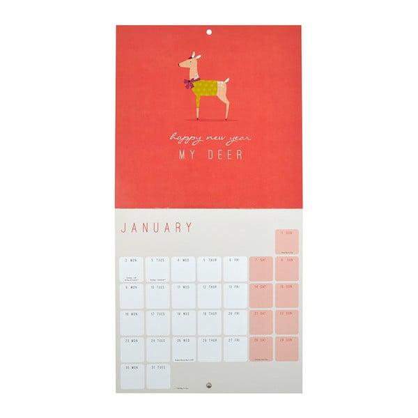 Mini kalendář Portico Designs Call Me Frank
