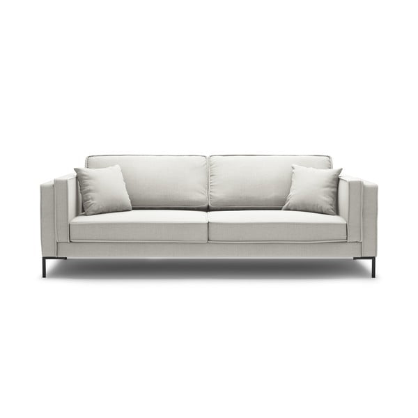 Canapea cu 3 locuri Milo Casa Attilio, bej