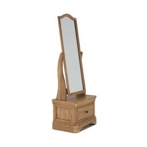 Stolní zrcadlo z dubového dřeva VIDA Living Carmen