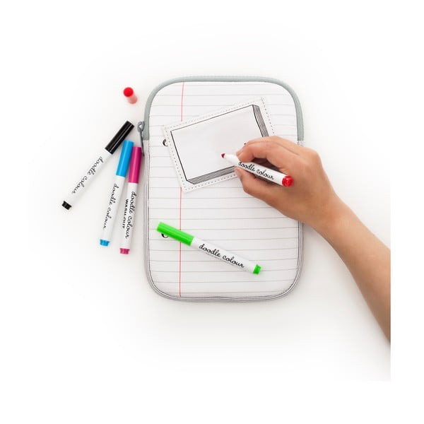 Obal na iPad mini k vymalování Doodle