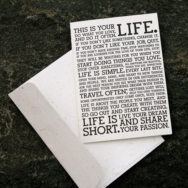 Sada pěti pohlednic Manifesto