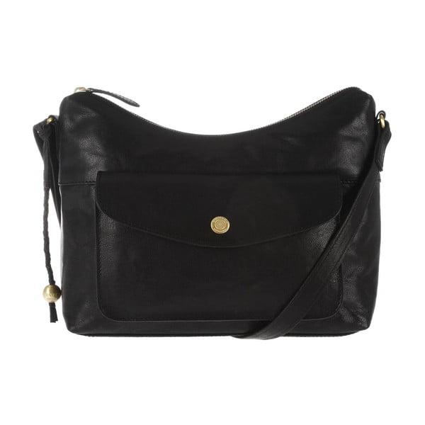 Dámská kožená taška Angel Black