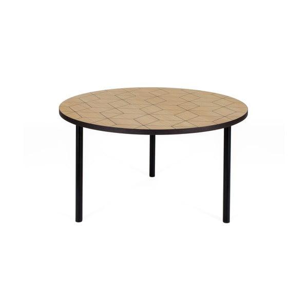 Arty Triangle 70 kerek dohányzóasztal - Woodman