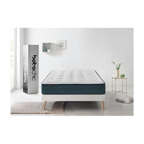 Tendresse fehér matrac zöld szegéllyel, 80 x 200 cm - Bobochic Paris