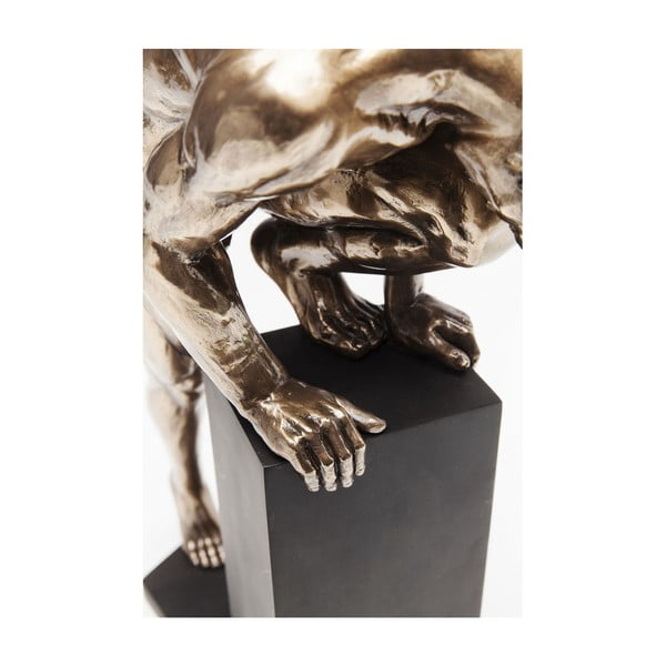 Decorațiune Kare Design Man Stand Bronze