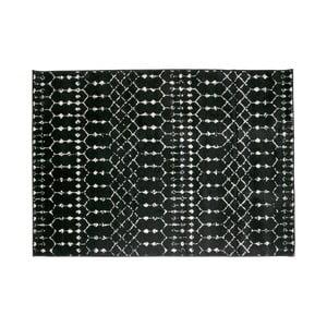 Černý koberec WOOOD Sansa, 170 x 240 cm