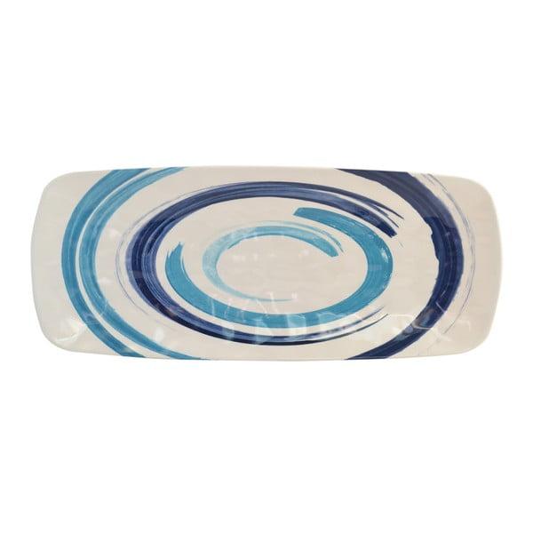 Podlouhlý talíř Navigate Swirl