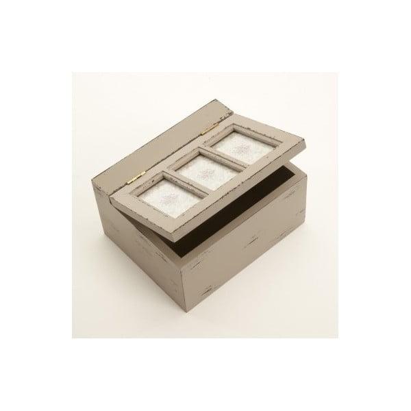 Dřevěná krabička Rustic