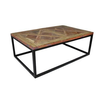 Măsuță auxiliară din lemn de tec HSM Collection Mozaik, 70 x 110 cm de la HSM collection