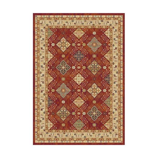 Béžovo-červený koberec Universal Nova Ornaments, 115x160cm