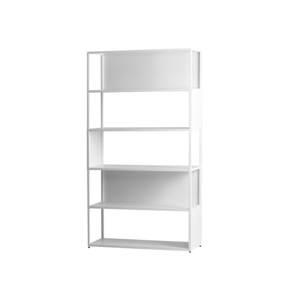 Bibliotecă din metal Custom Form Hyller Side, alb
