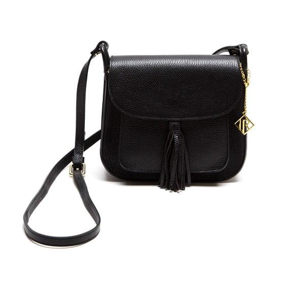 Kožená kabelka Isabella Rhea 1155, černá
