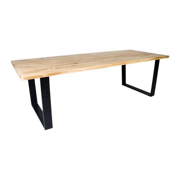 Jídelní stůl z deskou ze dřeva pavlovnie House Nordic Aulum, 220x100cm