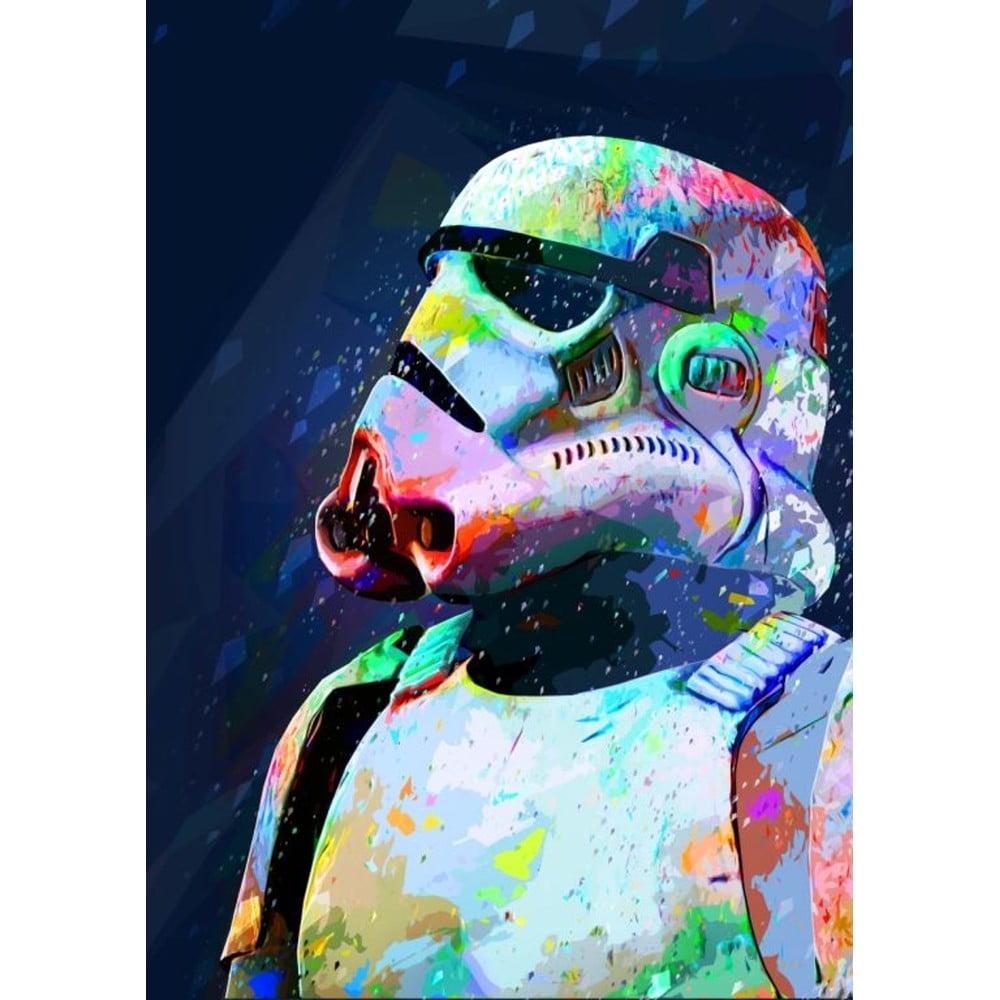 Plakát Blue-Shaker Star Wars 1, 30 x 40 cm