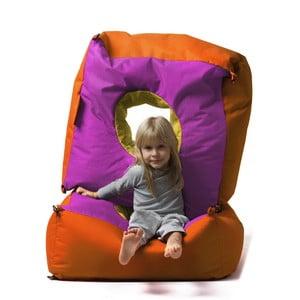 Dětský sedací vak Tri-Štyri, růžový, 1 ks