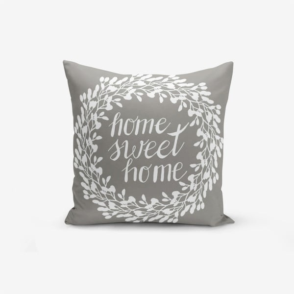 Față de pernă Minimalist Cushion Covers Sweet Home, 45 x 45 cm