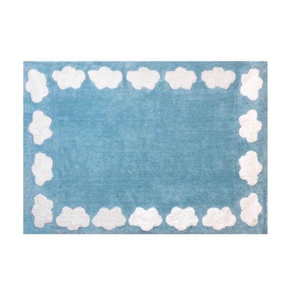 Koberec Nube 160x120 cm, modrý
