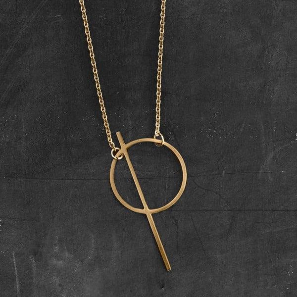 Náhrdelník Thale Gold z kolekce Geometry