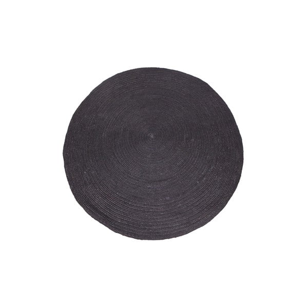 Sisalový koberec Kleed Black, 200 cm