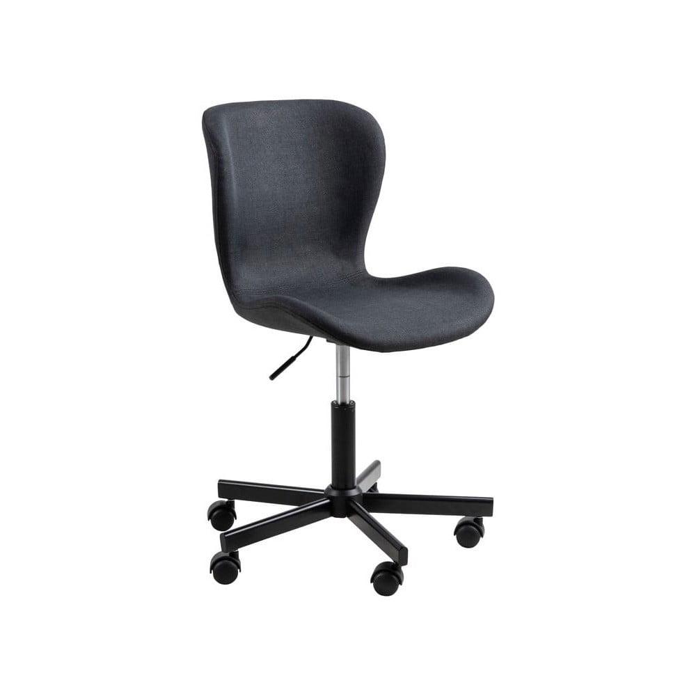 Černá kancelářská židle na kolečkách Actona Batilda