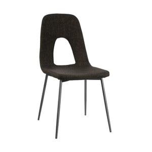 Šedá židle Ixia Modern