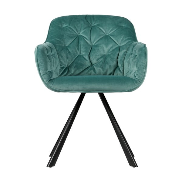 Světle zelená židle WOOOD Elaine