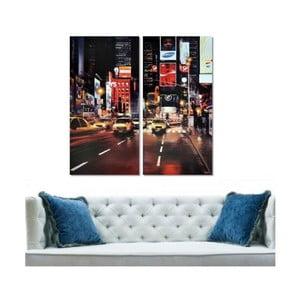 2dílný obraz Street, 40x60 cm