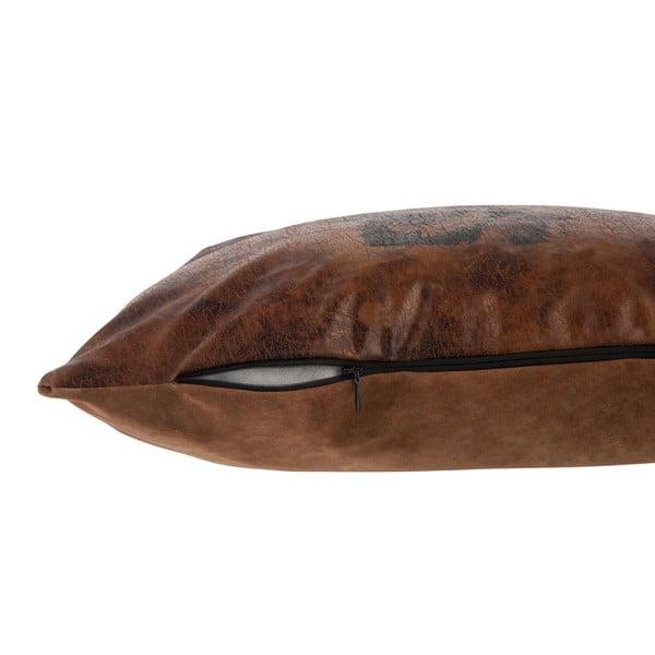 Polštářek J-Line Leath, 36x36 cm