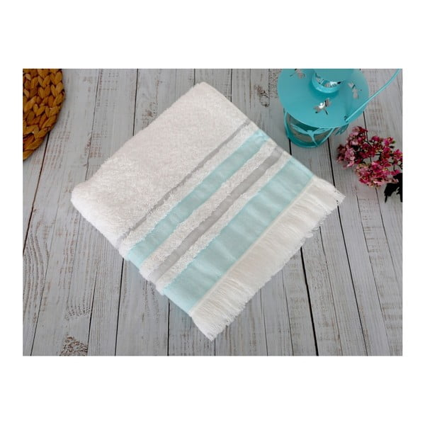 Modrý ručník Irya Home Spa, 50x90 cm
