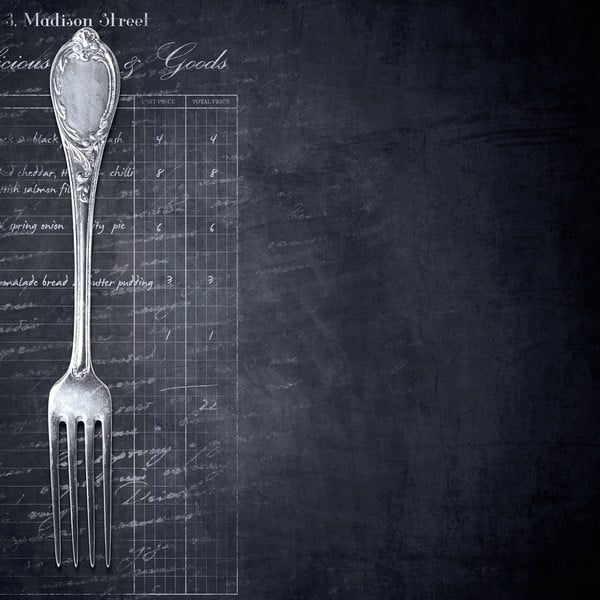 Magnetická tabule Eurographics Fork, 30x30cm