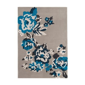 Koberec Harlequin Flora Blue, 160x230 cm
