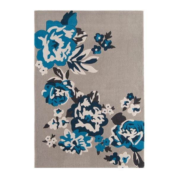 Koberec Harlequin Flora Blue, 200x300 cm