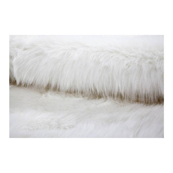 Ručně tkaný bílý koberec Kayoom Plaza 222 Weich, ⌀ 160 cm