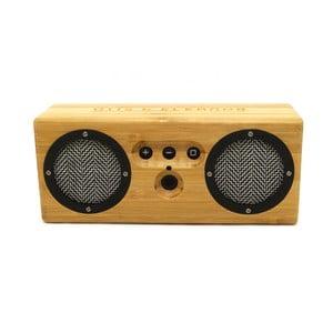 Přenosný bambusový speaker Black and White Bongo