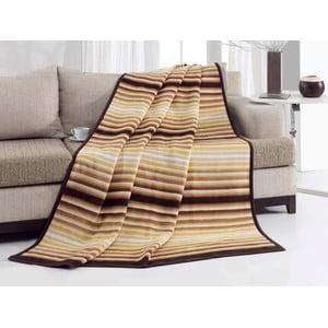 Deka Brown Stripes, 200x230 cm