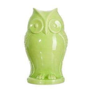 Kasička Green Owl, 15x13x26 cm