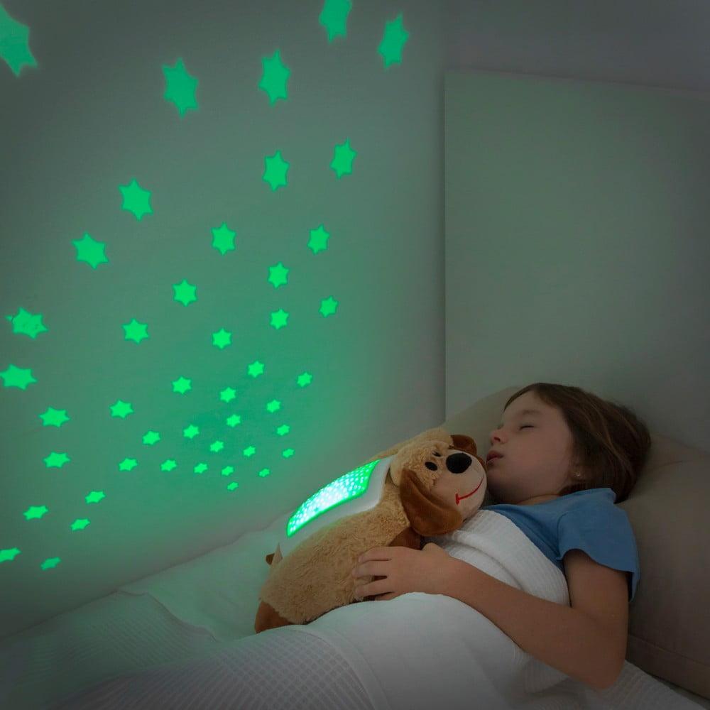Dětský plyšový LED projektor InnovaGoods Dog