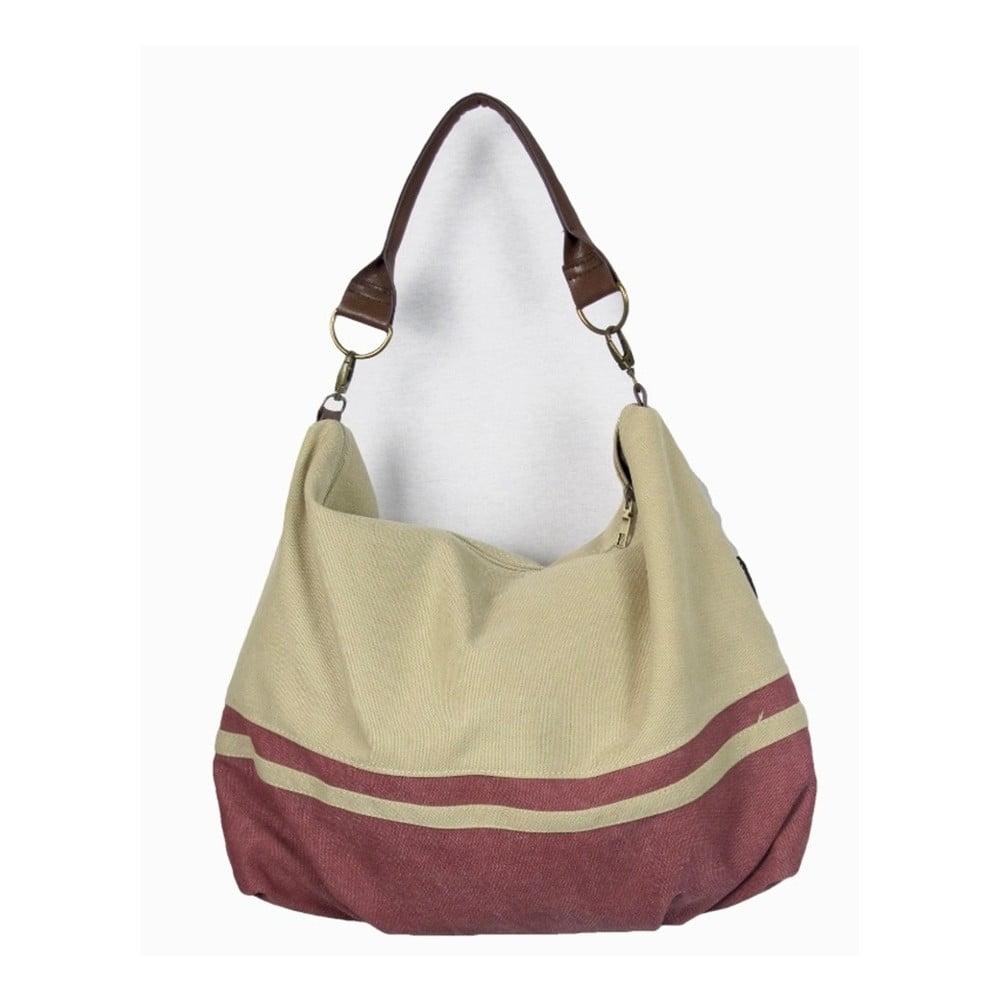 Béžová plátěná taška Sorela Burella