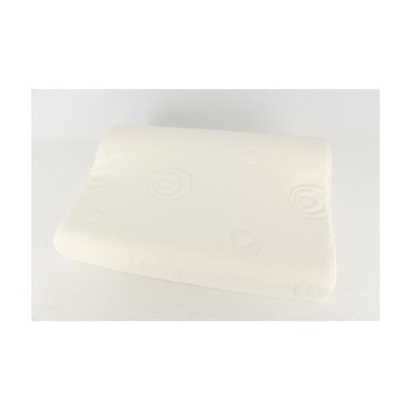 Polštář s viskoelastickou výplní Pillow, 60x40 cm