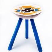 Ručně malovaná stolička Viscri, 38 cm