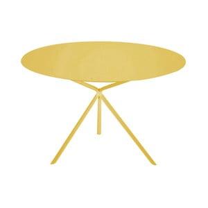 Žlutý konferenční stolek MEME Design Twin