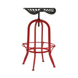 Barová stolička s červenými nohami Red Cartel Cassidy Truck