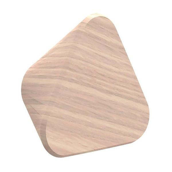 Háček z dubového dřeva na kabáty HARTÔ Leonie, Ø 12 cm
