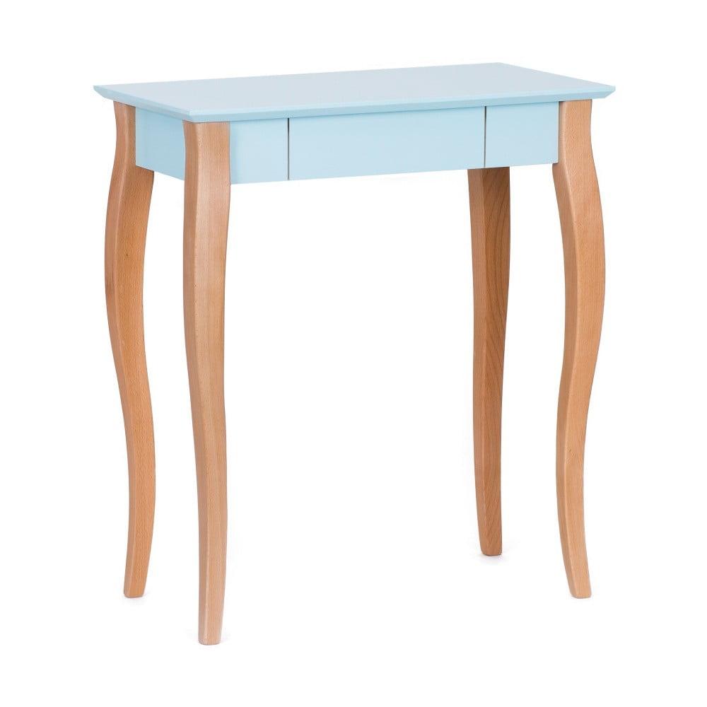 Světle tyrkysový psací stůl Ragaba Lillo, délka 65 cm